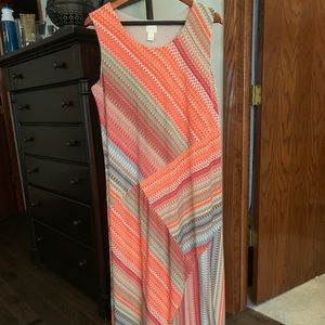 Chico's Sleeveless Print Dress, Size 3 (1X)